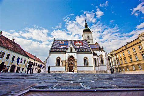 st marks church sightseeing zagreb