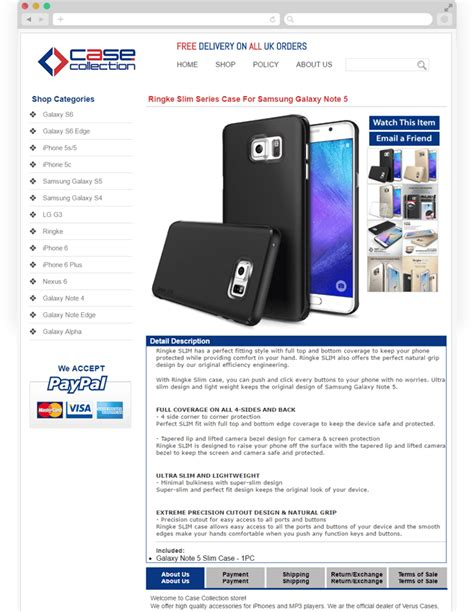 ebay mobile site uk ebay store design for mobile accessories