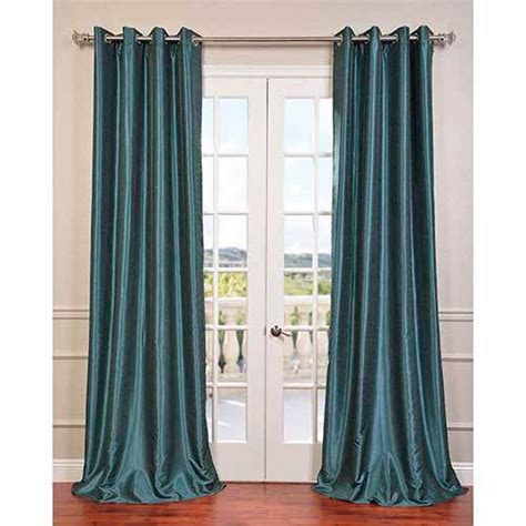 peacock green curtains peacock green 108 x 50 inch vintage textured grommet