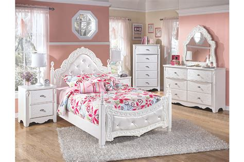 ashley furniture exquisite bedroom set exquisite full poster bed ashley furniture homestore