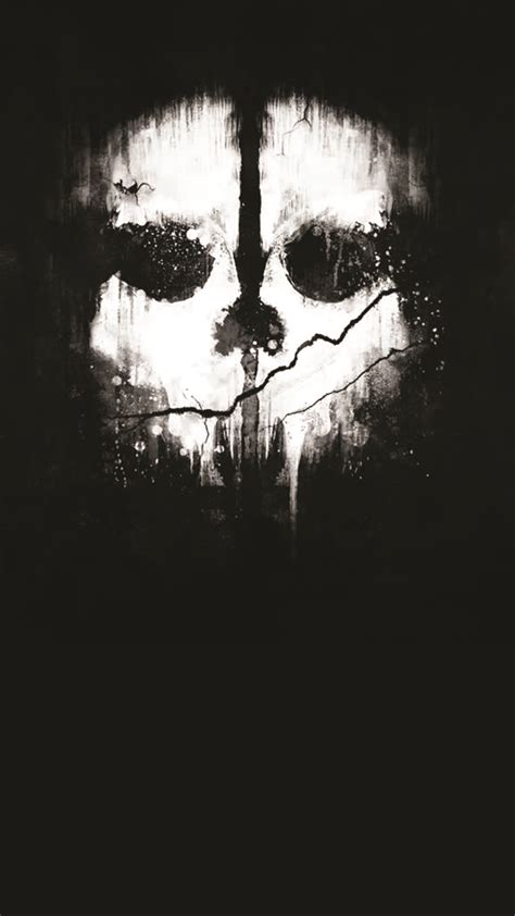 wallpaper android call of duty call of duty skelleton android wallpaper free download