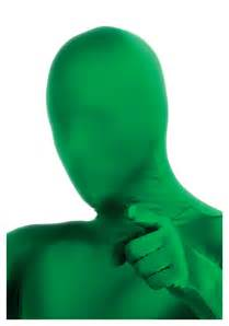 Plus Size Halloween Costume Ideas Green 2nd Skin Mask