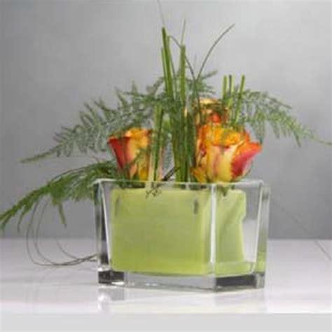 Deko Glas Hochzeit by Blumendeko Hochzeit Glas Glasvase Rechteck L 15 5cm