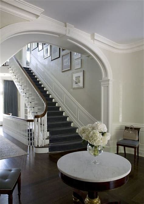 Georgian Stairs Design Classic Georgian Design The Stair Separated From The Foyer By An Eliptical Arch