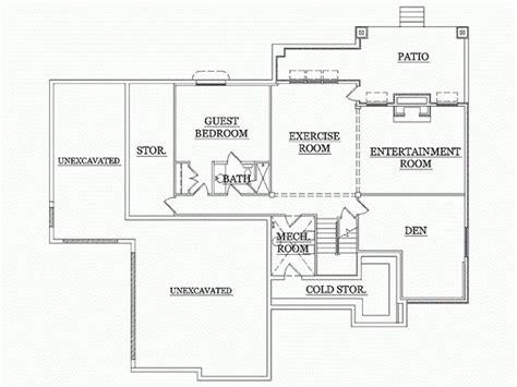 basement floor plan 3 craftsman basement finish 1000 images about rambler floor plans on pinterest
