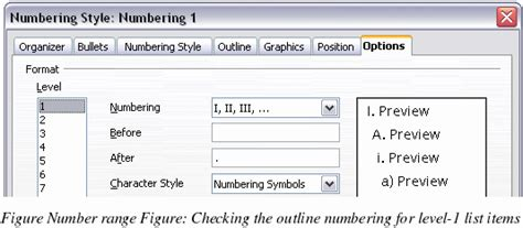 Openoffice Writer Outline View by Openoffice Writer Using Outline Numbering Styles