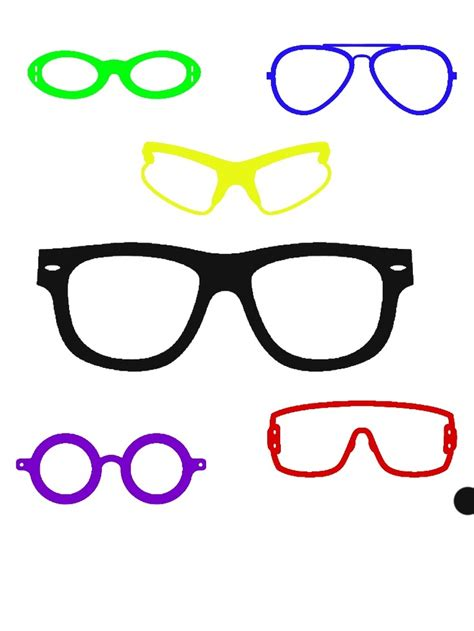 how to use stencils on doodle buddy cool sunglasses that i made while using stencils buy or