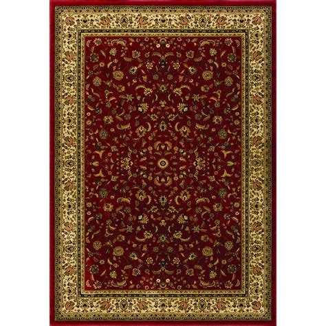 natco home fashions rugs natco sapphire sarouk claret 5 ft 3 in x 7 ft 7 in area rug 4341 21 60me the home depot