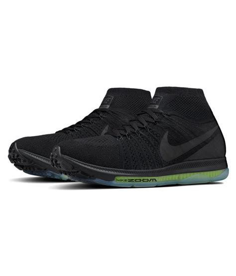 Sepatu Murahh Nike Flyknite Zoom Mf Black nike zoom allout flyknit black running shoes buy nike zoom allout flyknit black running shoes