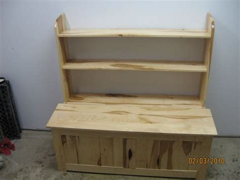 toy box ideas hickory toy box with torsion quot no slam hinge quot and book