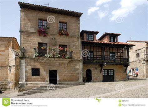 French European House Plans old house spain stock photos image 3875253