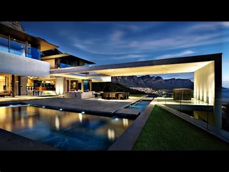ultra luxurious mansion in south africa luxury mansions and luxury villas in africa homes of spectacularly stunning ultra modern contemporary luxury residence in cape town south africa