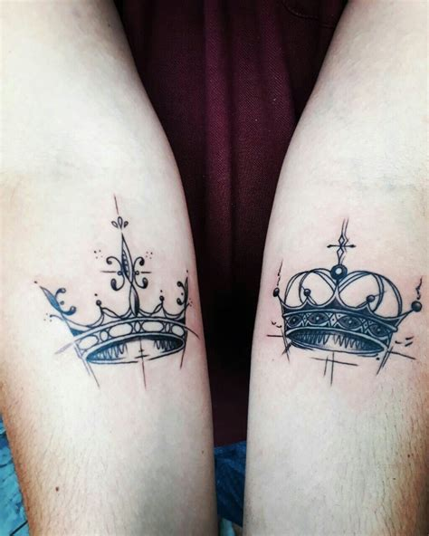 queen tattoo king other king and