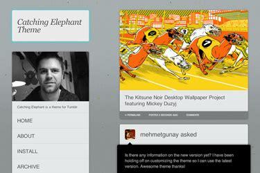 theme tumblr issue catching elephant