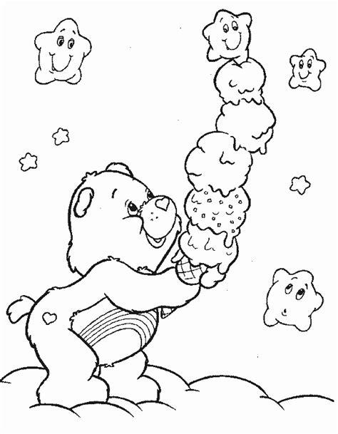 care bear coloring pages coloringpagesabc com