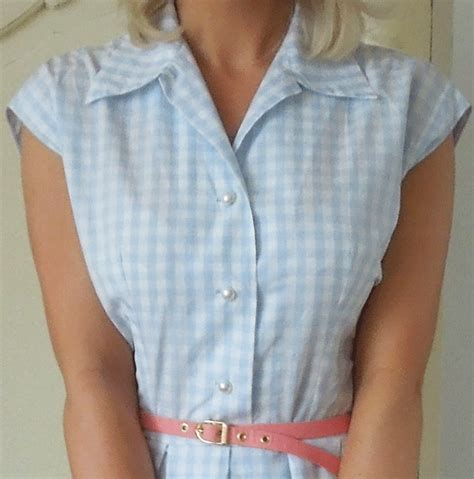 pattern for shirt dress shirt dress made from a vintage pattern style pinterest