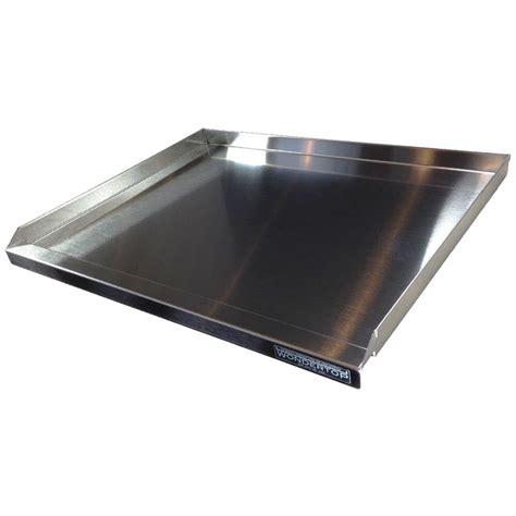 stainless steel prep wondertop stainless steel kitchen prep worktop the