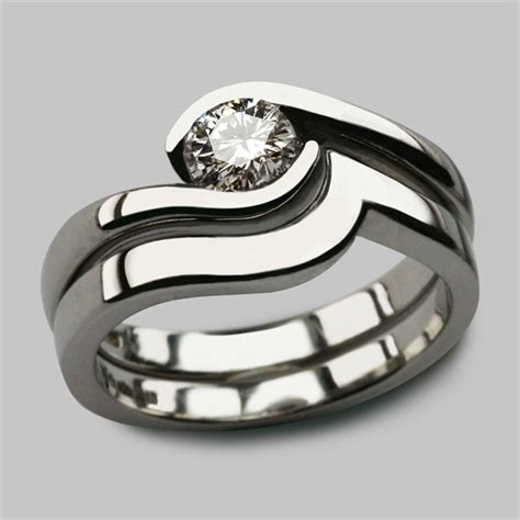 Bespoke Wedding Ring Design by Bespoke Platinum Wedding Eternity Rings