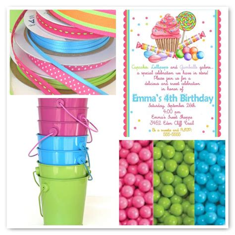 colour themes lollipop candy party planning glorious treats
