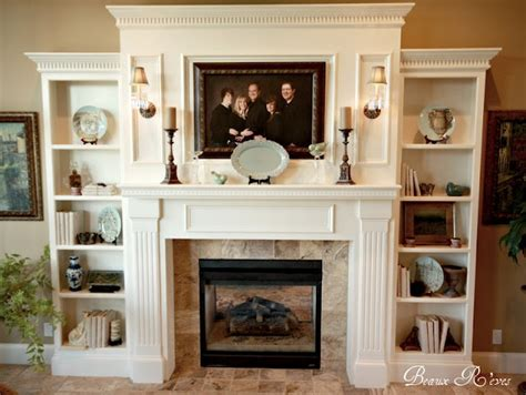Fireplace Surround Bookshelves 1000 Ideas About Fireplace Bookcase On Pinterest