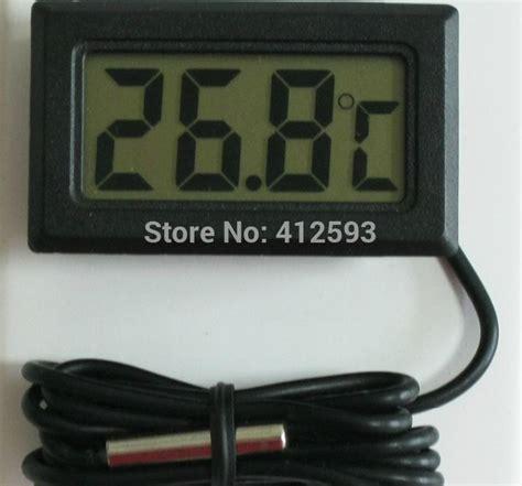 Termometer Suhu Kulkas indikator suhu lcd kulkas freezer termometer digital