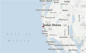 where is indian shores florida on map indian shores location guide