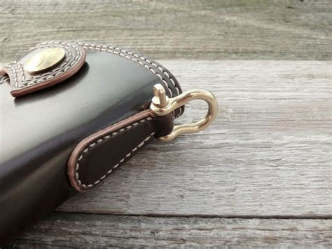SOXISIX WALLET Horween Shell Cordovan® PM.47/BRASS:OXBLOOD : Soxisix?   Highest quality handmade