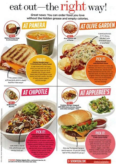 the restaurant diet how to eat out every and still lose weight books best 25 healthy fast food choices ideas on