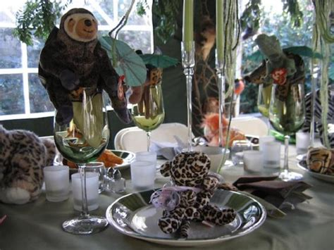 jungle baby shower centerpiece ideas baby shower decorations easyday