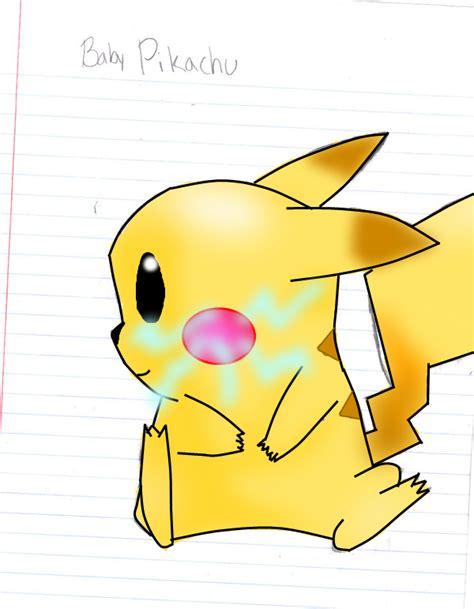 baby shark pikachu cute baby pikachu drawings www pixshark com images