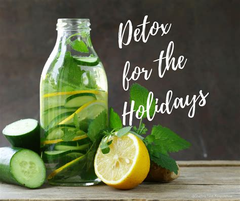 After Detox From by 7 Ways To Detox After The Holidays Starting Point
