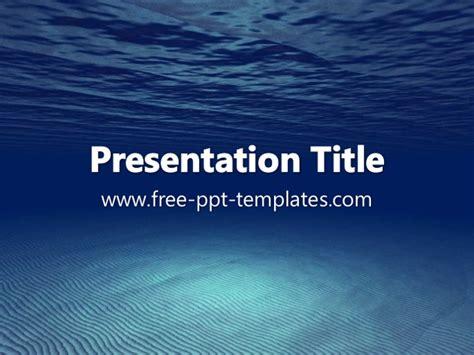 powerpoint templates underwater underwater ppt template