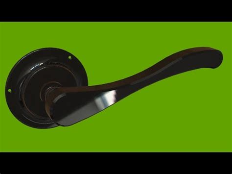 draw door knob  solidworks youtube