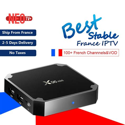 Box Android Iptv by Iptv Box X96mini 4k Android Tv Box With 1200 Neo Iptv Europe Arabic Africa