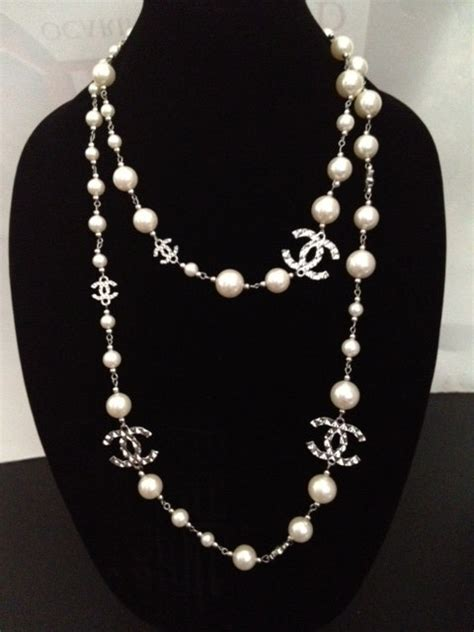 15 Adorable And Stylish In Inspired Jewelry by Chanel Inspired Pearl Necklace We It Coco
