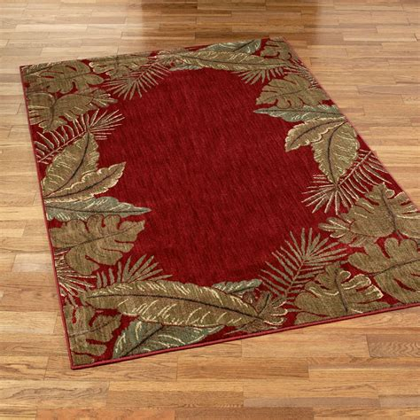 Tropical Area Rug Tropical Retreat Area Rugs Paradise Tropical Rugs