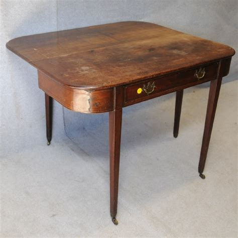 Drop Leaf Side Table A Drop Leaf Side Table Tables Side Antique Furniture South Perth Antiques Collectables