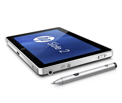 Tablet Hp hp slate 2 a light refresh for biz centric windows 7 tablet pcworld