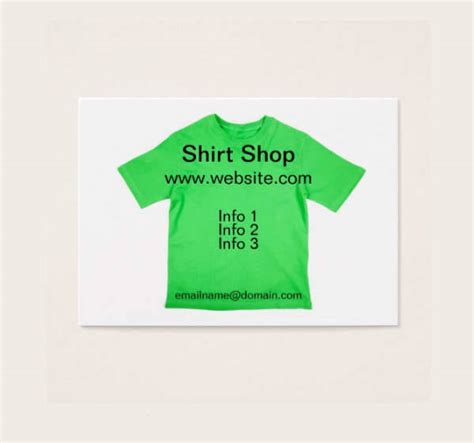t shirt business card template 30 t shirt design templates psd eps ai vector