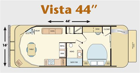Toaster Information 44 Foot Vista Class Houseboat