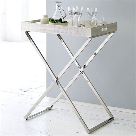 Tray Side Table by Butler Trays Stands West Elm Side Tables And End