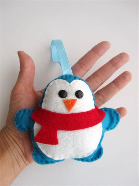 penguin tree skirt 31 quot felt embroidered penguin pier 1 penguin ornaments for crafts