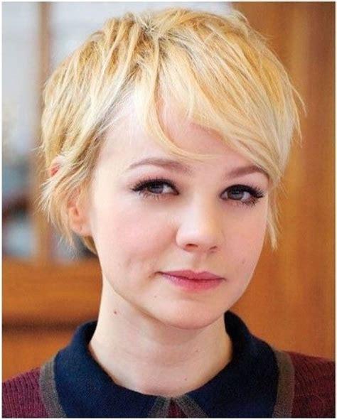 suesse blonde pixie haarschnitt fuer feines haar frisuren