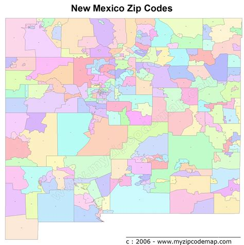 us area code from mexico new mexico zip code maps free new mexico zip code maps