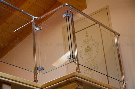 ringhiera per soppalco abs scale ringhiera in acciaio inox e cristallo su soppalco