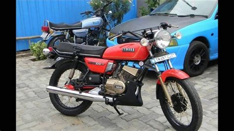 Rx100 Modified Bikes by Yamaha Rx100 Bike Modification
