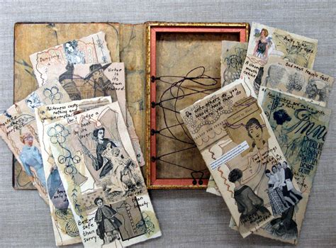 Handmade Artists - in stitches the storycatcher 500 handmade books and