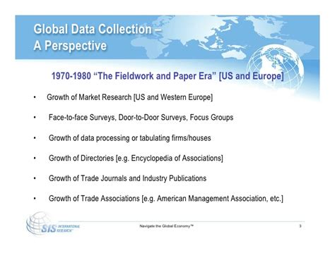challenges in data collection challenges of global data collection