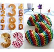 Wonderful DIY Stunning Number Cake