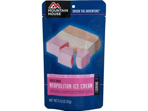 mountain house freeze dried food mountain house neopolitan ice cream bar freeze dried food mpn 53523
